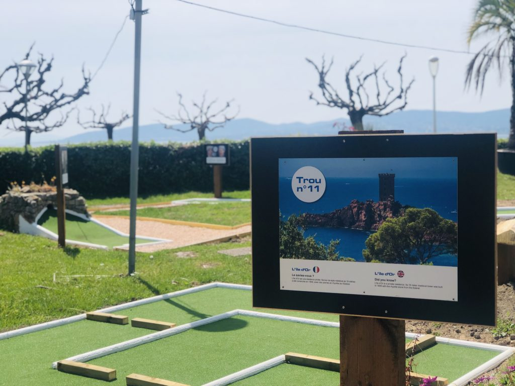 mini-golf saint-raphael