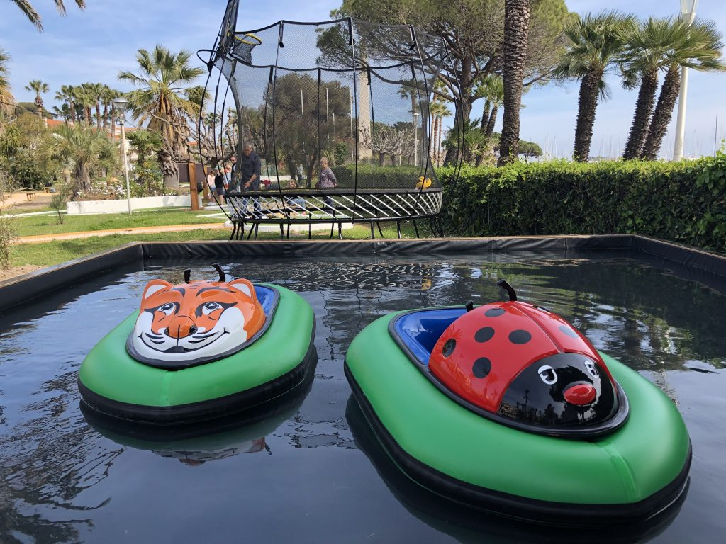 bateaux tamponneurs mini-golf saint-raphaël
